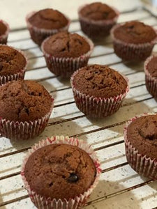 Chocolate chips based muffins