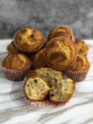 Blueberry based muffins