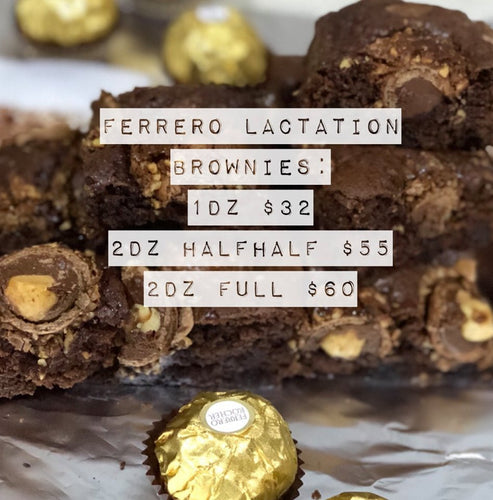 Lacta Brownies (Ferrero Rocher)