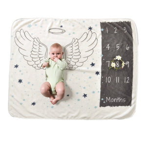 (Brand New) Baby's milestone phototaking blanket