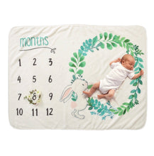Load image into Gallery viewer, (Brand New) Baby's milestone phototaking blanket