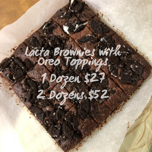 Lacta Brownies (Oreo)