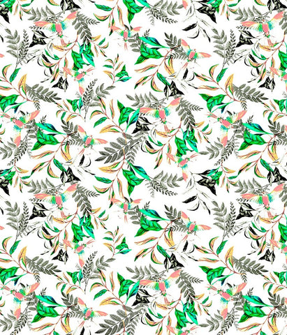 Animal Medium Birds Paradise Green P
