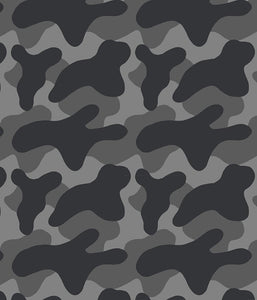 Camouflage Medium Camoblob Grey P