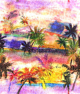 Conversational Large Oasis Beauty Multi P