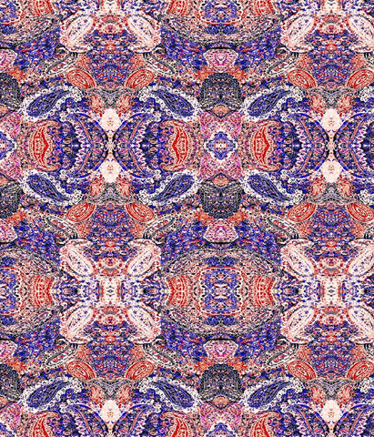 Paisley Medium King of Prussia Red/Blue