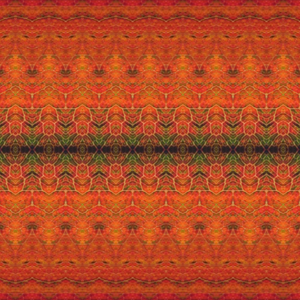 Ethnic Nature Orange/Red
