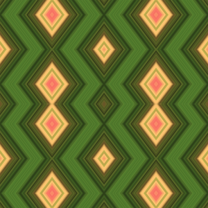 Ethnic Waves Green/Yellow/Red