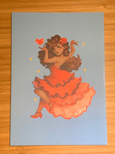 Load image into Gallery viewer, Dancer Card -- Set of 4