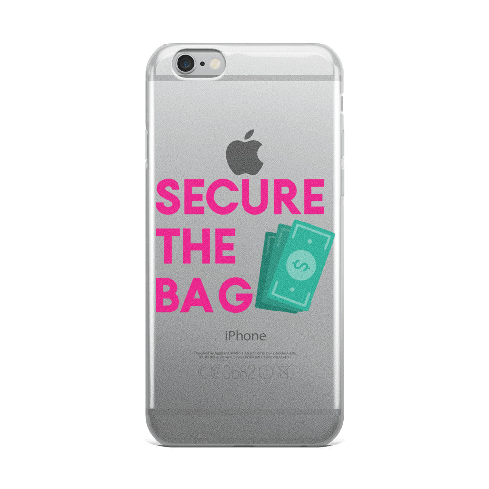 Secure The Bag iPhone Case