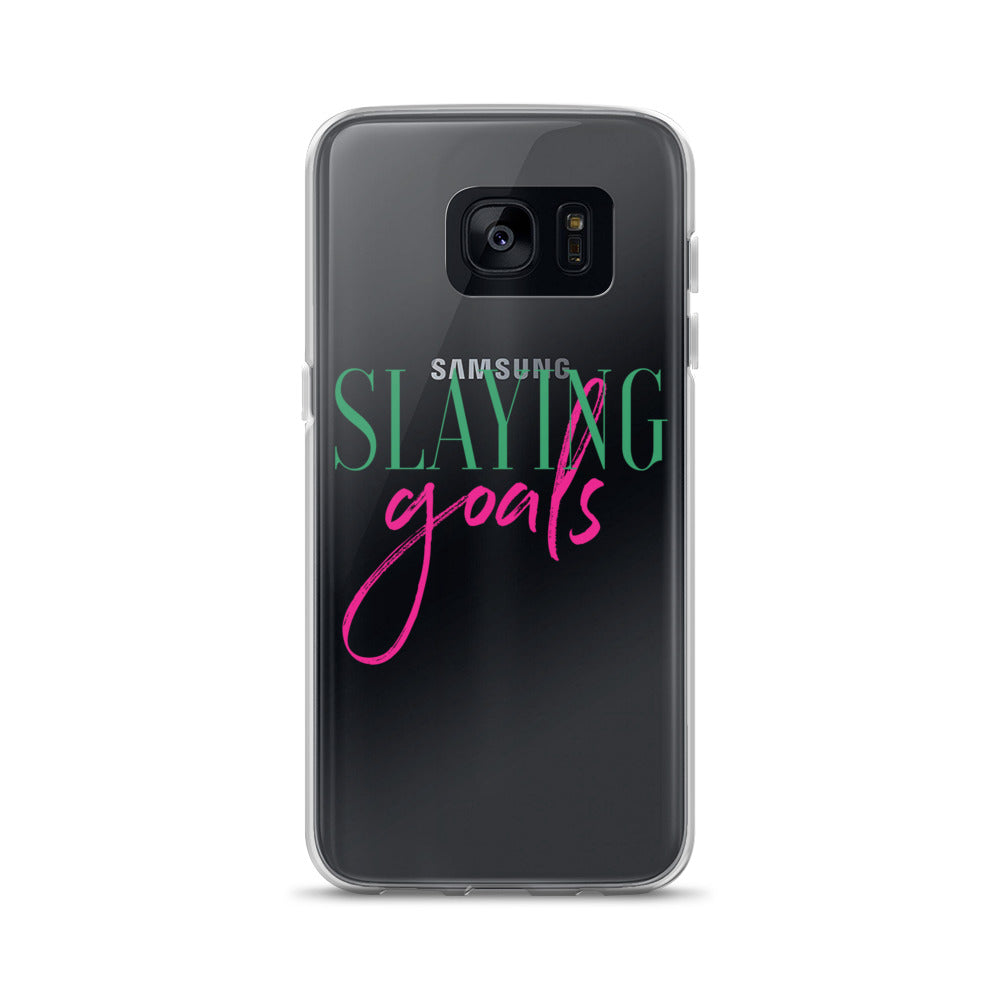 Slaying Goals Samsung Case