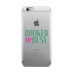 Booked & Busy iPhone Case