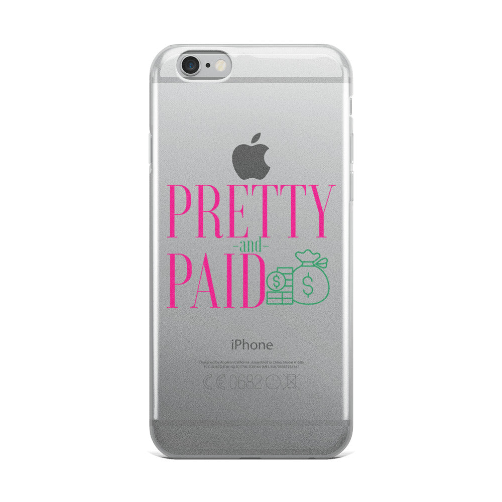 Pretty and Paid iPhone Case