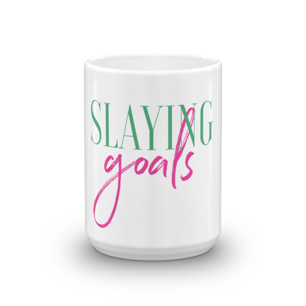 Slaying Goals Mug