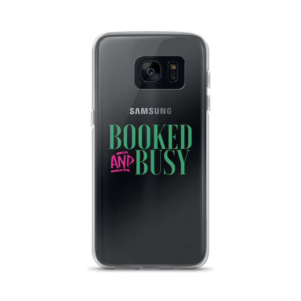 Booked & Busy Samsung Case