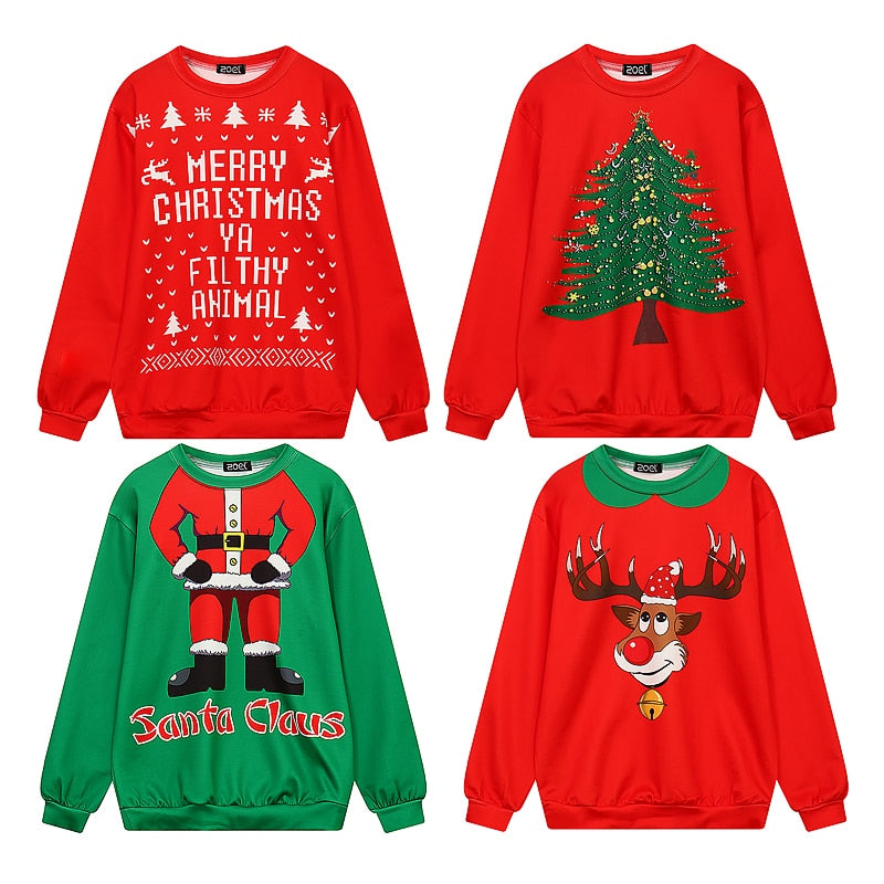 Christmas Ugly Sweater.Cute Christmas Ugly Sweaters