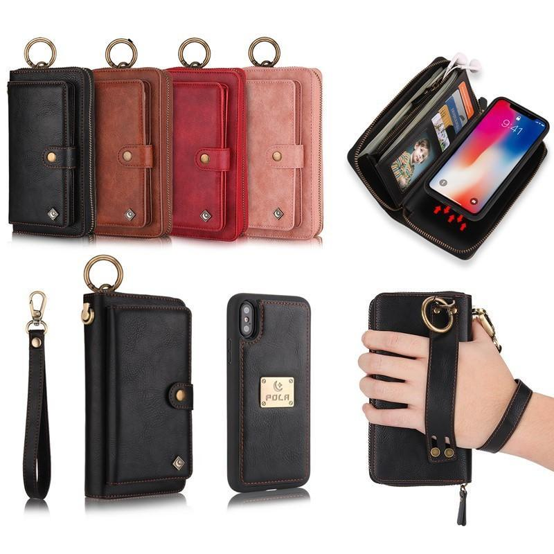 online store 9f727 7e918 Multi-function Leather Purse with Magnetic Phone Case – InspiredMore