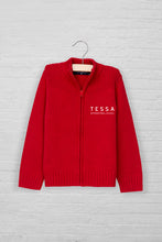 Unisex Logo Full Zip Sweater Cardigan