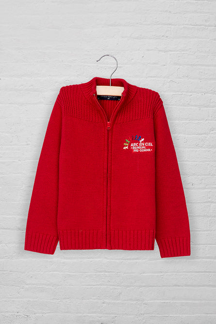 Unisex Full Zip Sweater Cardigan