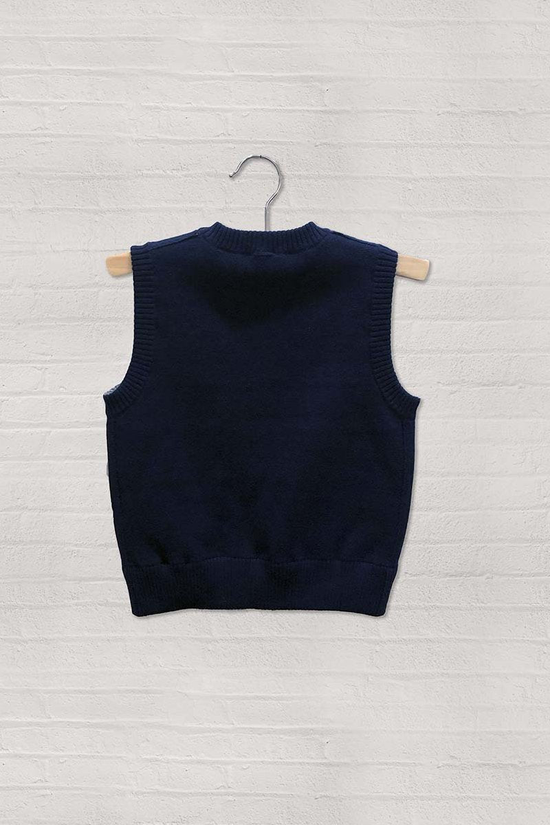 Unisex Reversible V-Neck Sweater Vest