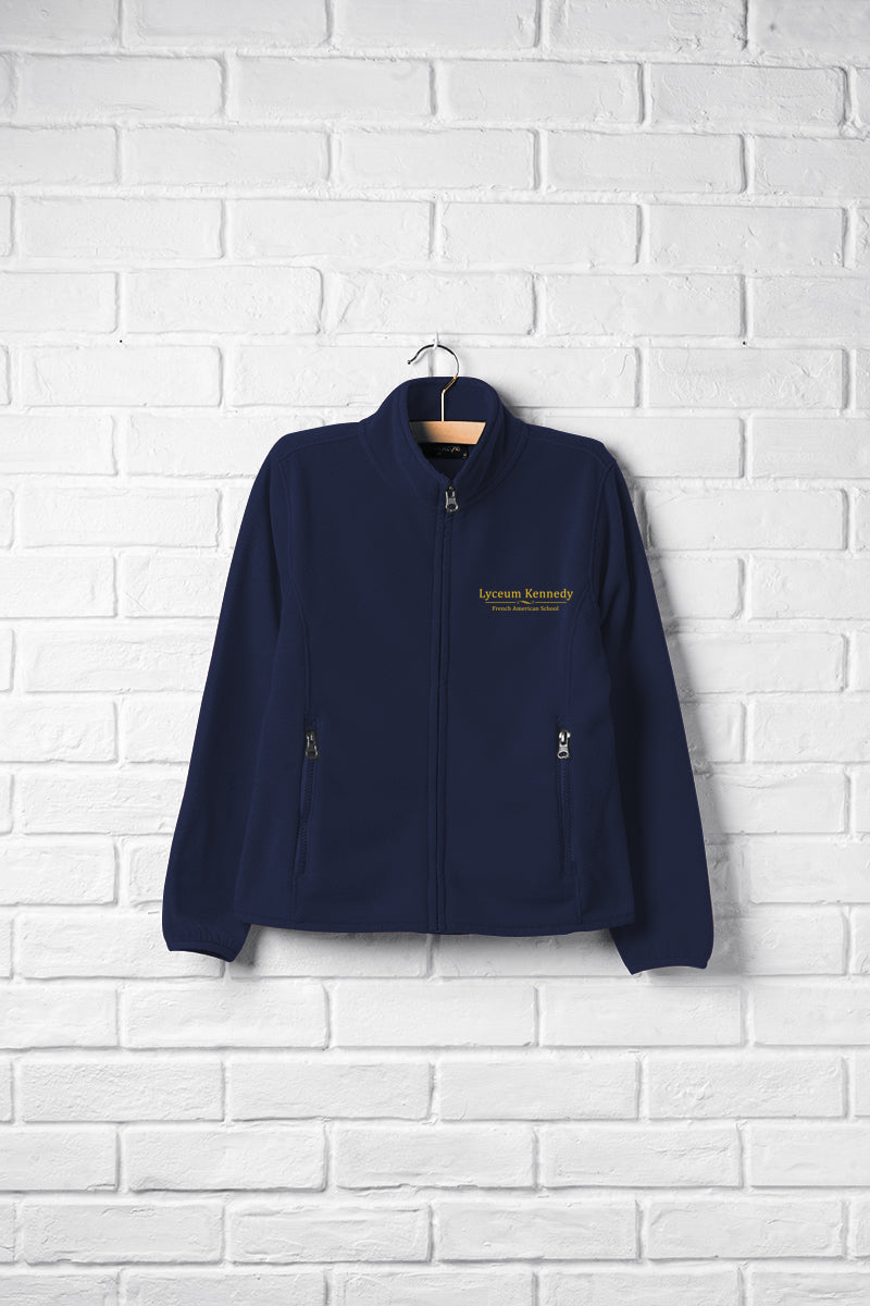Boys Full Zip Fleece Jacket