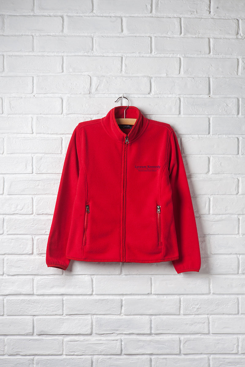 Girls Full Zip Fleece Jacket