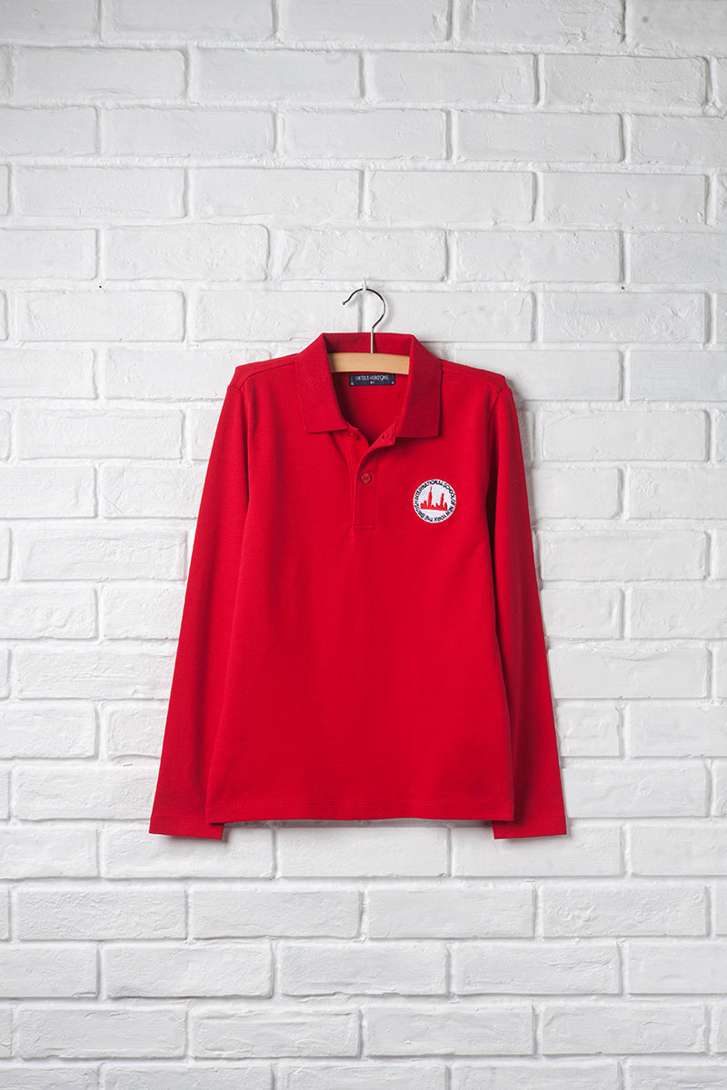 Unisex Long Sleeve Polo