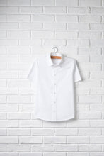 Unisex Short Sleeve Button Front Shirt