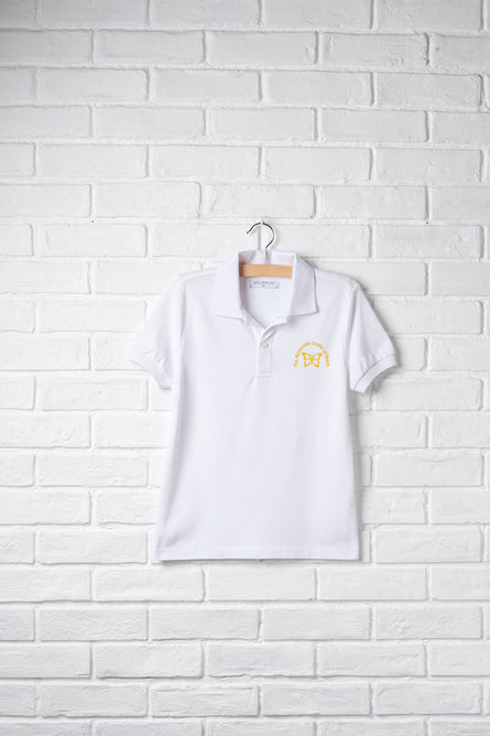Unisex Short Sleeve Polo with Embroidery Logo
