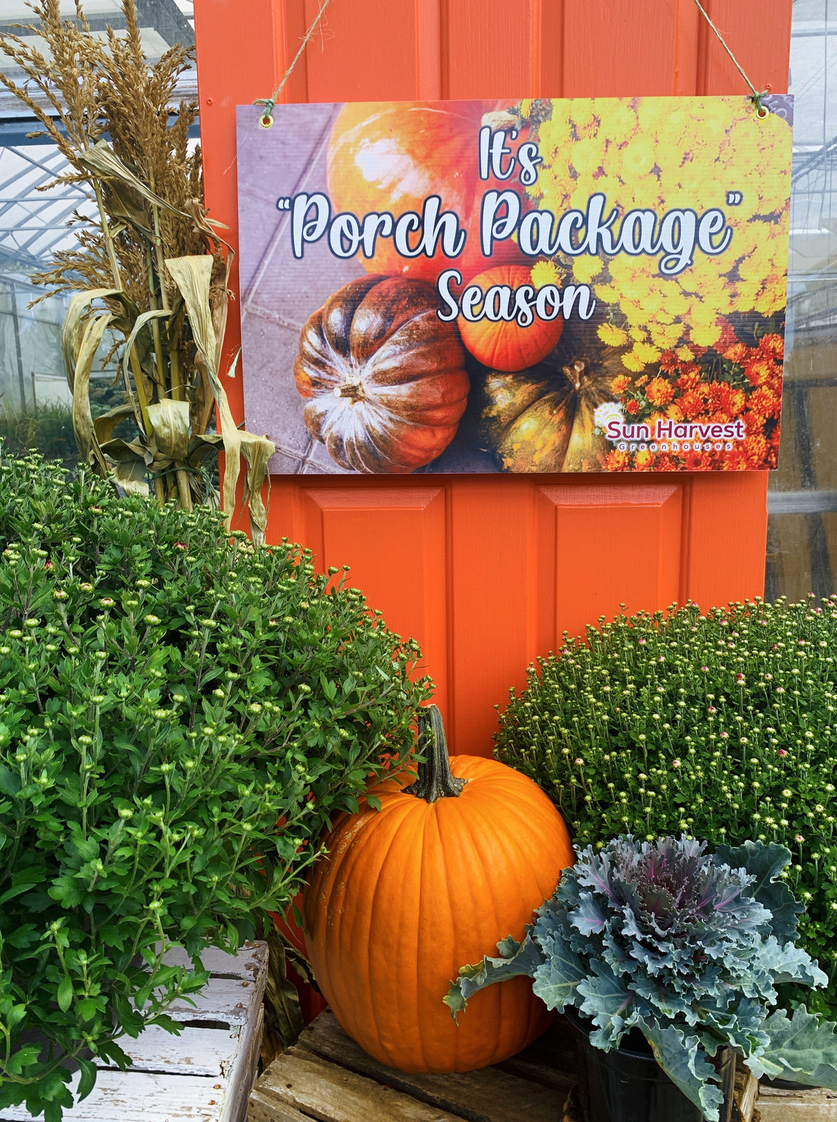 Fall Porch Package