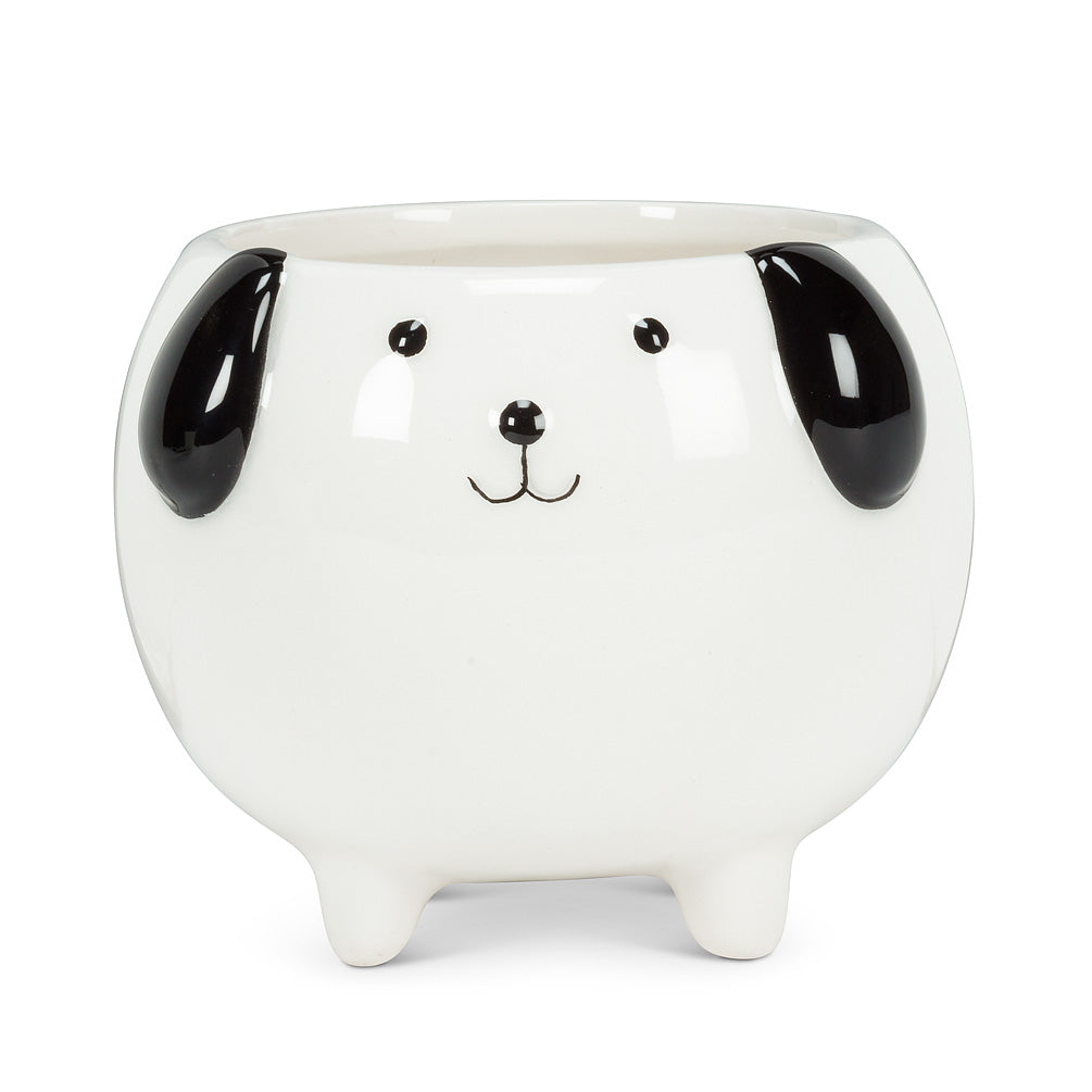 Dog on Legs Planter