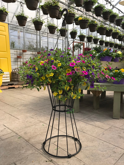 Reversible Basket Plant Stand