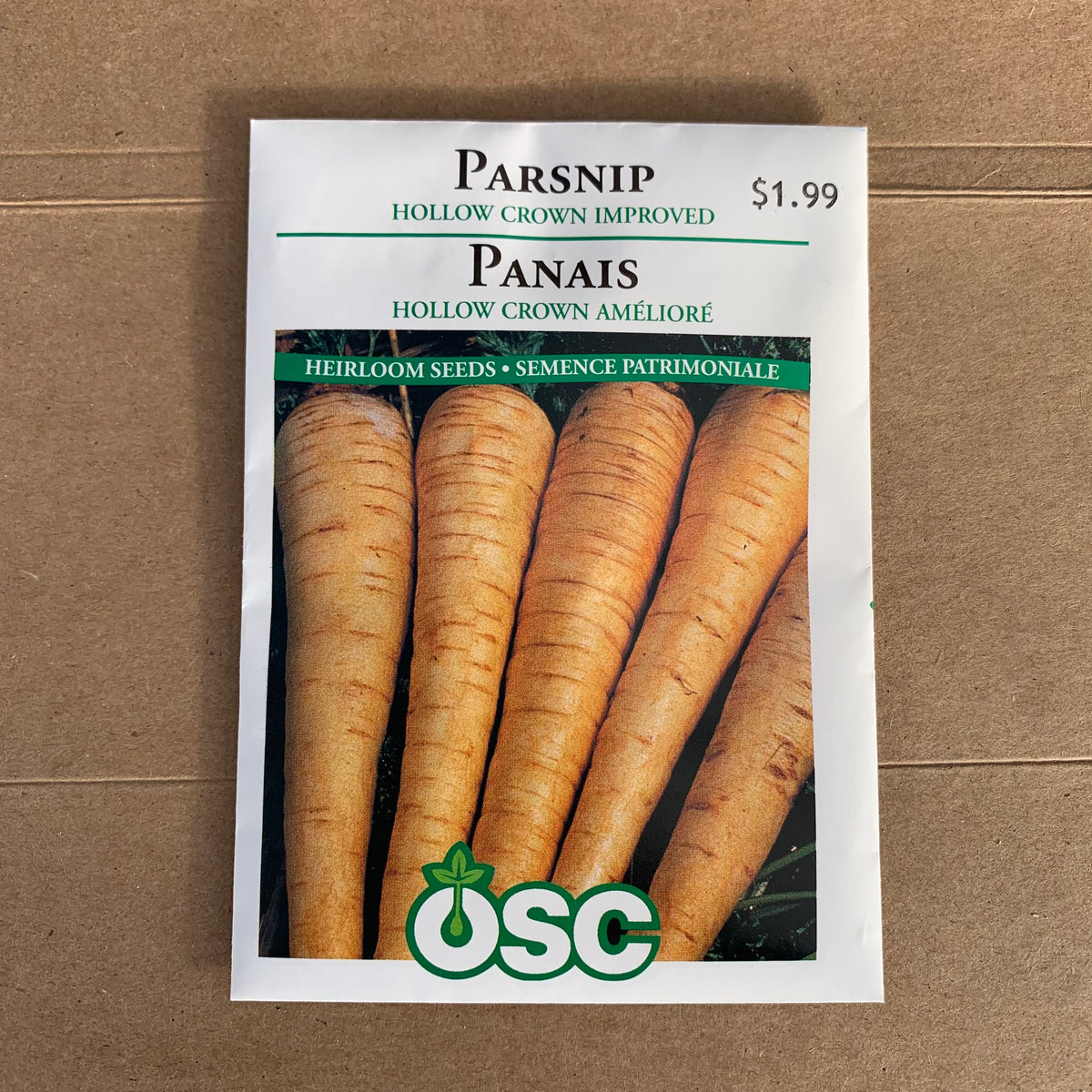 OSC Parsnip 'Hollow Crown improved'