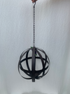 Metal Foldable Globe with Candle Holder