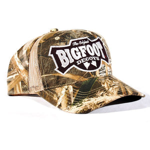 Real Tree MAX-5® Camo Bigfoot Logo Hat