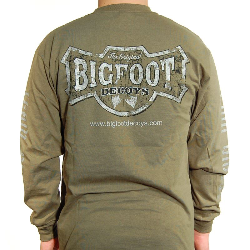 BigFoot Long Sleeve Shirt