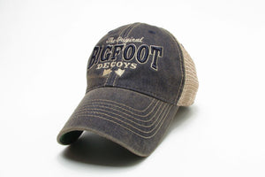 Bigfoot™ Trucker Style Denim Hat