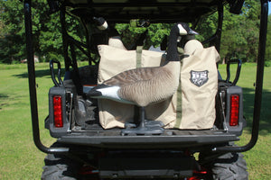 B2™ Fully Flocked Variety Goose Decoys 6 Pk. with Free 6-Slot Decoy Bag