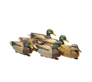 Bigfoot™ Floating Oversized Mallards 6 pk. 4 Drakes, 2 Hens.