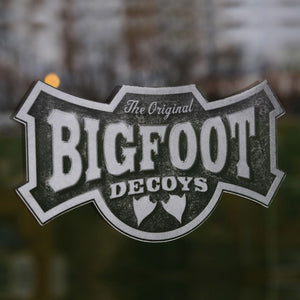 "ORIGINAL BIG FOOT DECAL - MEDIUM (12""w X 6"" h)"
