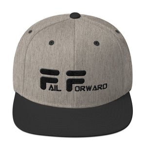 Fail Forward Forward Revive Snapback Hat