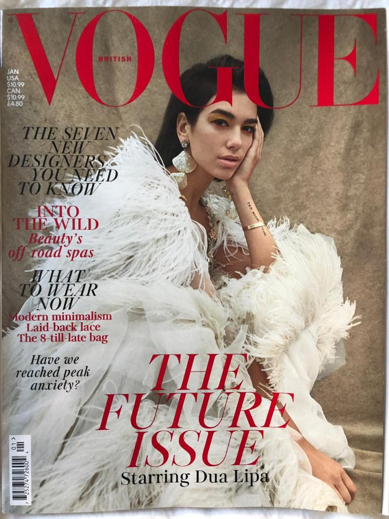 VOGUE MAGAZINE - JANUARY 2019
