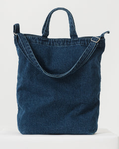 BAGGU Canvas Tote Bag - Dark Denim