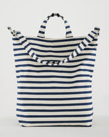 BAGGU Canvas Tote Bag - Sailor Stripe