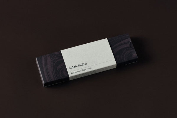 SUBTLE BODIES Incense Sticks -  Vietnamese Agarwood