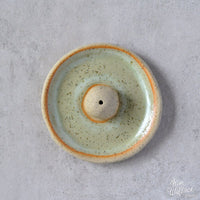 KIM WALLACE Incense Holder- Speckled Green