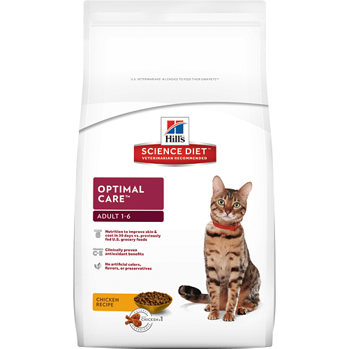Hill's Science Diet Feline Adult Food 2KG