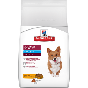 Hill's Science Diet Canine Adult Small Bites Dry Dog Food 8KG