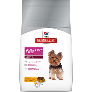 Hill's Science Diet Canine Adult Toy Small Breed Dry Dog Food 8KG