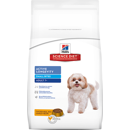 Hill's Science Diet Canine Mature Small Bites Dry Dog Food 8KG